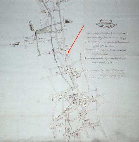 mappa 1699  Thiene